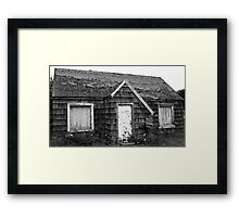 The house with no name Framed Print