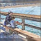 father and son by LarryH