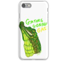 GATOR 2 iPhone Case/Skin