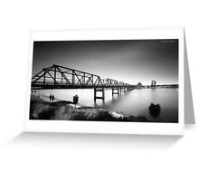 Martin Bridge 6666 Greeting Card