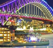 Harbour Bridge 2 Vivid 2016 Sticker