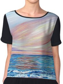 Sunset in Paradise Chiffon Top