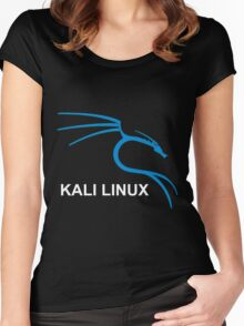 Kali Linux Hacking Tees Women's Fitted Scoop T-Shirt