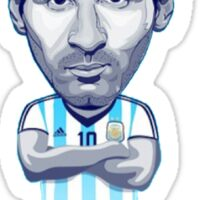 Lionel Messi Sticker Sticker