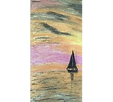 Sail Into The Sunset Photographic Print