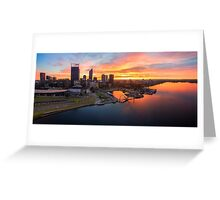 Perth Sunrise Greeting Card