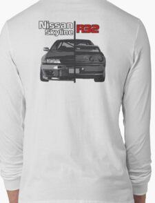 Nissan Skyline R32 JDM Long Sleeve T-Shirt