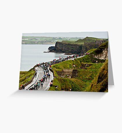 Giro D'Italia - Ireland Greeting Card