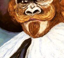 Post-punk Pop art meets The Laughing Gorilla Sticker