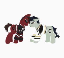 Pony Toews vs Crospony by hockeyponies