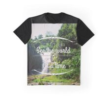 see the waterfall Graphic T-Shirt