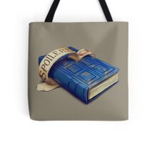 Spoilers, River Song's Tardis Journal Tote Bag