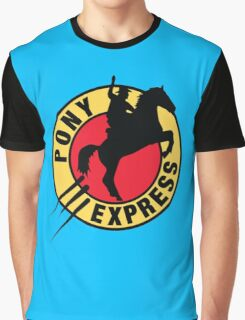 Pony Express Graphic T-Shirt