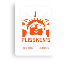 Plisskens Bootcamp Canvas Print
