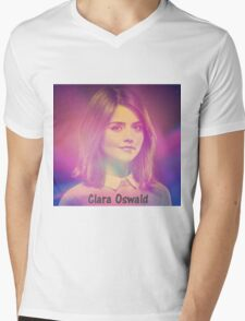 Clara Oswald Mens V-Neck T-Shirt
