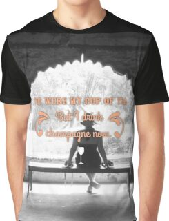 champagne Graphic T-Shirt