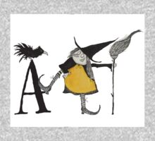 A is for Awful Witch Kids Tee