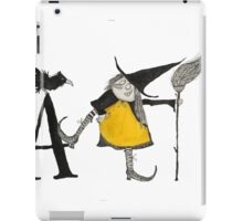 A is for Awful Witch iPad Case/Skin