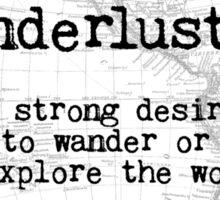 Wanderlust Sticker