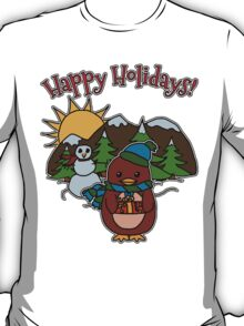 Holiday - Dapper - Moo and Friends T-Shirt