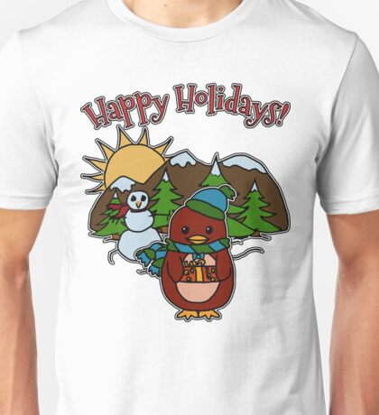Holiday - Dapper - Moo and Friends Unisex T-Shirt