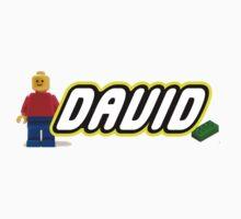 Personalized Lego Clothing - David Kids Tee