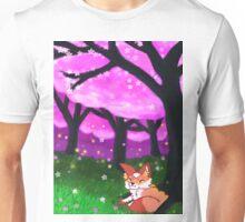 happy fox Unisex T-Shirt