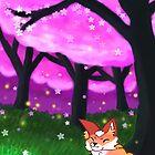 happy fox by Destiny Nowicki