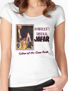 Kareem Abdul Jafar Women's Fitted Scoop T-Shirt