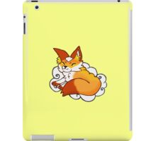 fox on a cloud iPad Case/Skin
