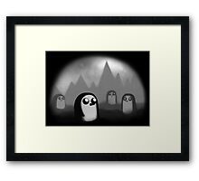 Evil Penguin Framed Print