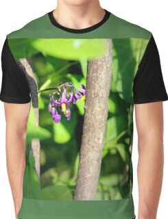 Climbing Nightshade in the Sunshine Graphic T-Shirt