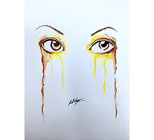 Colorful Eyes - Belle Photographic Print