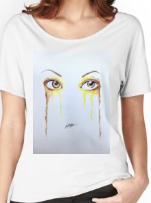 Colorful Eyes - Belle Women's Relaxed Fit T-Shirt