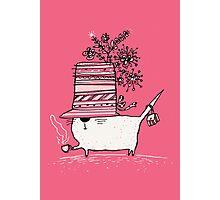 Cup of Tea Cat Photographic Print