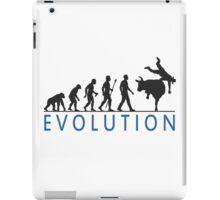 Funny Evolution Bull Riding iPad Case/Skin