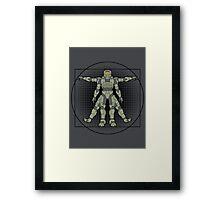 Vitruvian Spartan Framed Print