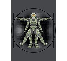 Vitruvian Spartan Photographic Print