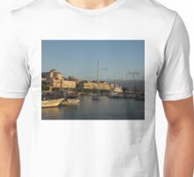 Sailing Out Of Syracuse, Sicily  Unisex T-Shirt