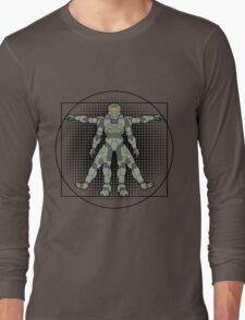 Vitruvian Spartan Long Sleeve T-Shirt