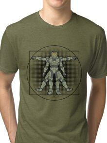 Vitruvian Spartan Tri-blend T-Shirt