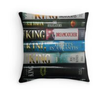 Stephen King HC1 Throw Pillow