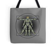 Vitruvian Spartan Tote Bag