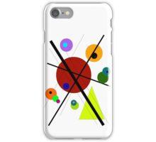 lignes, cercles, triangle #1 iPhone Case/Skin