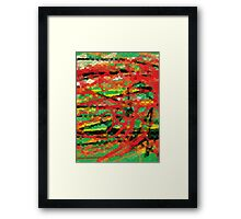 Dragons in the Forest Framed Print