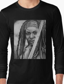Michonne Long Sleeve T-Shirt