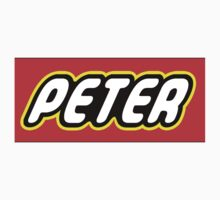 Personalized Lego Clothing - Peter Kids Tee
