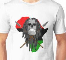 Warrior Skull Unisex T-Shirt
