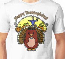Thanksgiving - Dapper - Moo and Friends Unisex T-Shirt