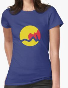 Grand Rapids Flag Womens Fitted T-Shirt